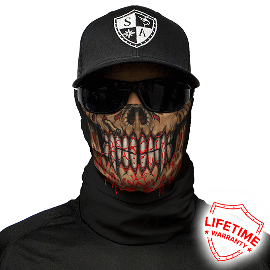 Bloodthirsty Face Shield - Face Mask - One Size