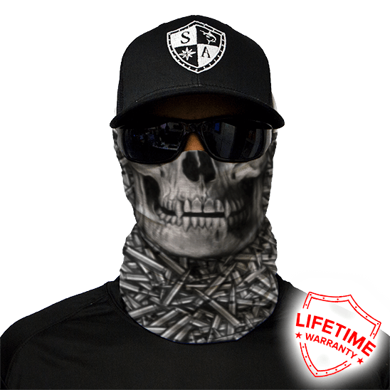 Hollow Head Face Shield - Face Mask - One Size