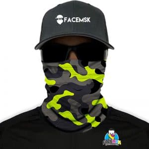 Surge Military Camo Face Shield – Face Mask
