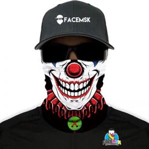 Clown Face Mask - Face Shield