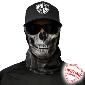 Skull tech | Crow Face Shield - Face Mask - One Size