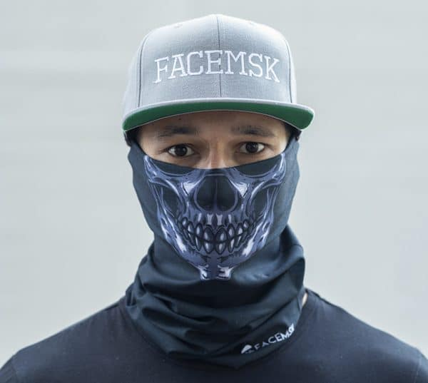 Skull Head Facemasker