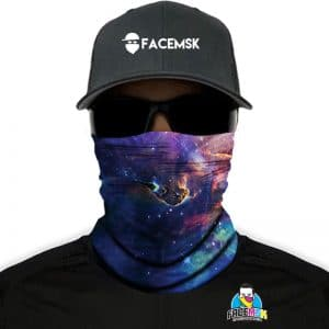 Galaxy Face Shield - Face Mask