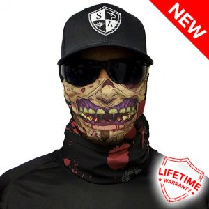Flesh Zombie Face Shield - Face Mask - One Size