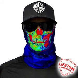 Galactic Skull Faceshield - Face Mask - One Size