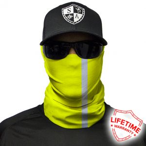 Faceshield - Reflective Electric Yellow