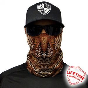 Wild Turkey Face Shield - Face Mask - One Size