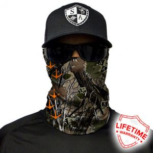 Turkey Tracks | Dregs Face Shield - Face Mask - One Size