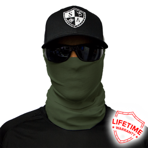 Tactical Od Green Faceshield - Facemasks - One Size