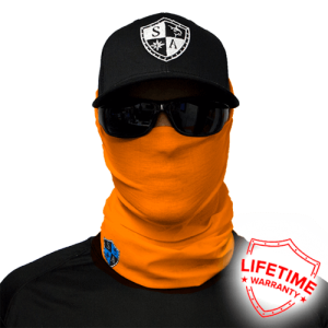 Tactical Orange Face Shield - Face Mask - One Size