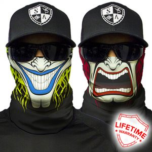 Two Sided Faceshield - Face Mask
