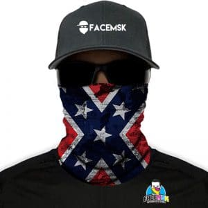 Rebel Vlag FaceMSK FaceMask - FaceShield