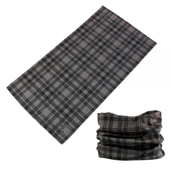Buffs - Grey Square Plaid