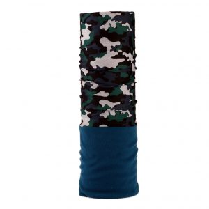Fleece Camo Green Army