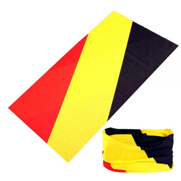 Buffs - Red Yellow Black Flag