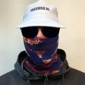 Sunny Clouds Faceshield