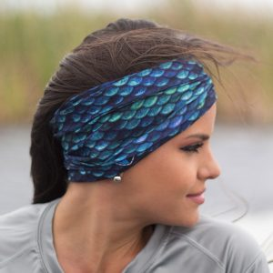 bandana mermaid scales