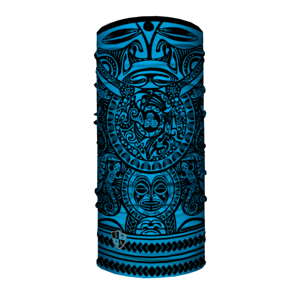 polynesian tribal blue