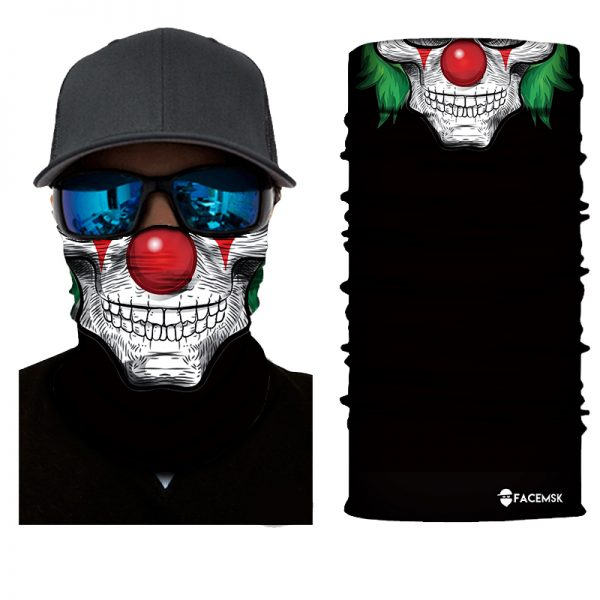 Buster Clown Face Shield - Face Mask