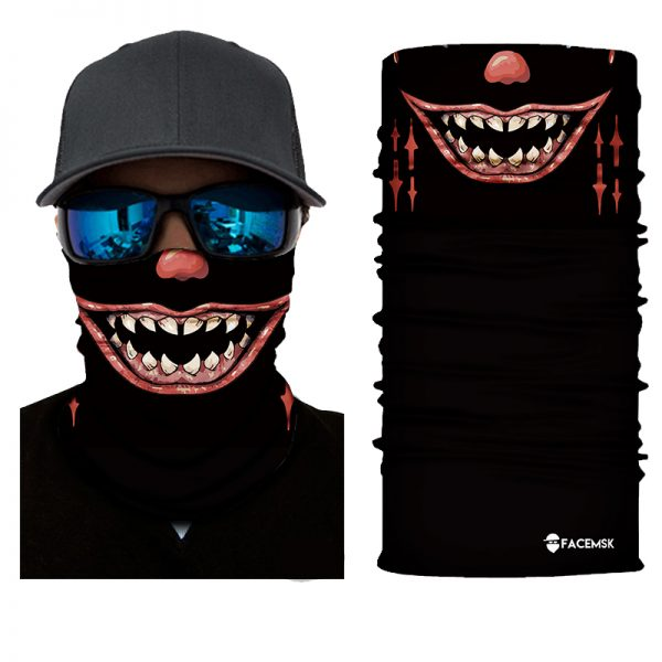 Fearsomely Tooths Face Shield - Face Mask