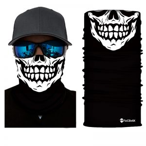 Skeleton Skull Face Shield - Face Mask