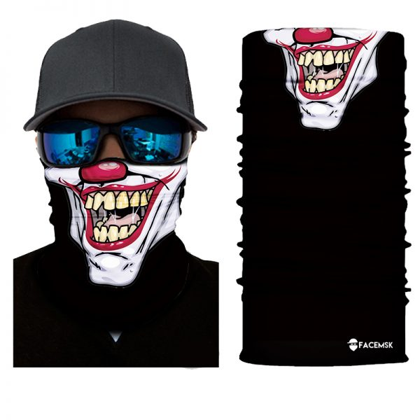 Jimbo Clown Face Shield - Face Mask