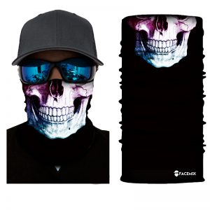 Major Skull Face Shield - Face Mask