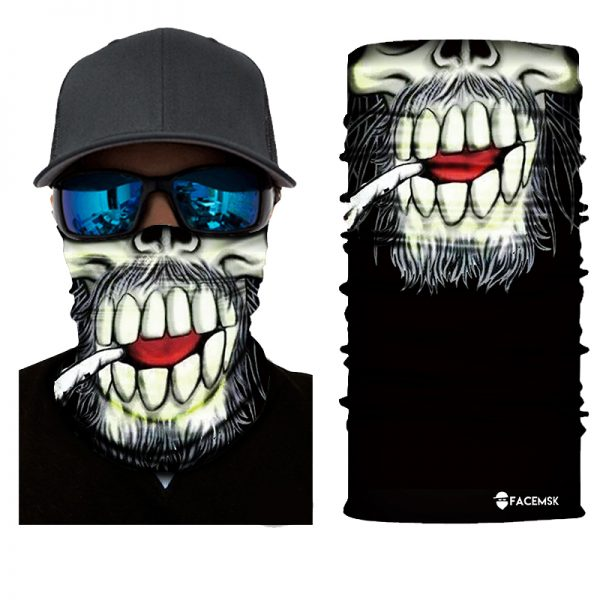 Smoking Man Face Shield - Face Mask