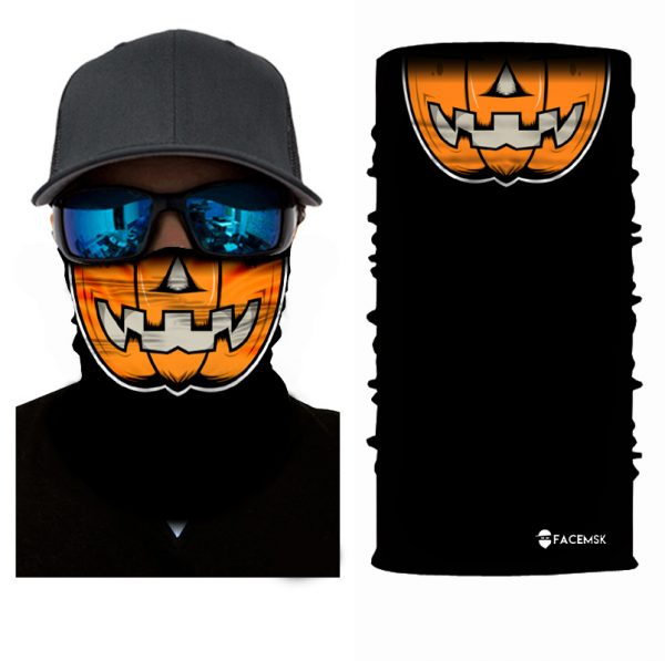 Pumpkin Face Shield - Face Mask