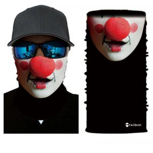 Red Nose Clown Face Shield - Face Mask