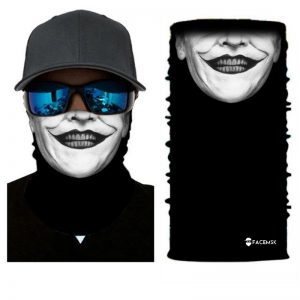 Chester Clown Face Shield - Face Mask