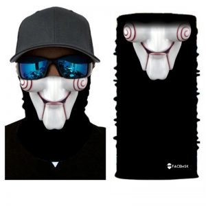 Jigsaw Clown Face Shield - Face Mask