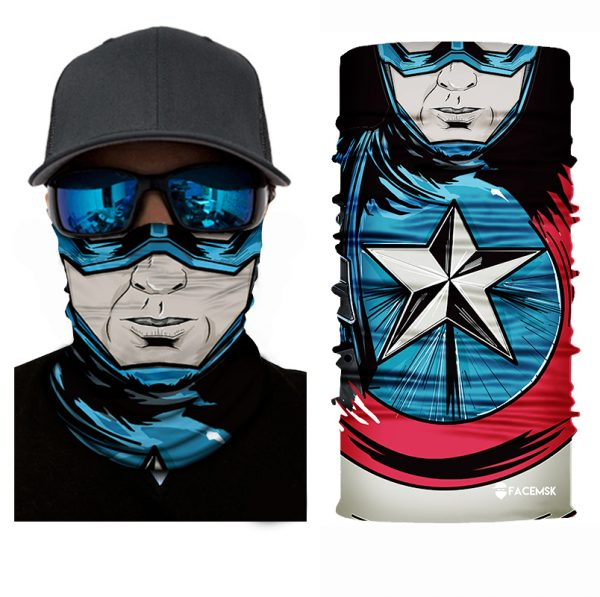 American Hero Face Shield - Face Mask