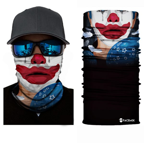 Tubby Clown Face Shield - Face Mask