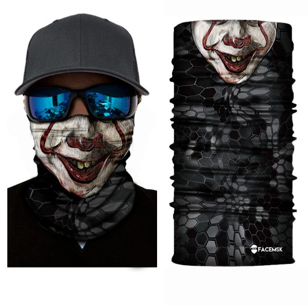 IT Clown Face Shield - Face Mask