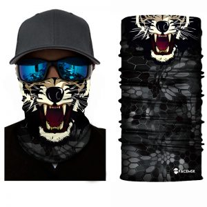 Tiger Face Shield - Face Mask