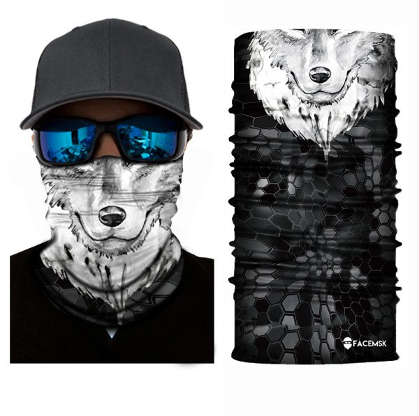 Wolf Face Shield - Face Mask