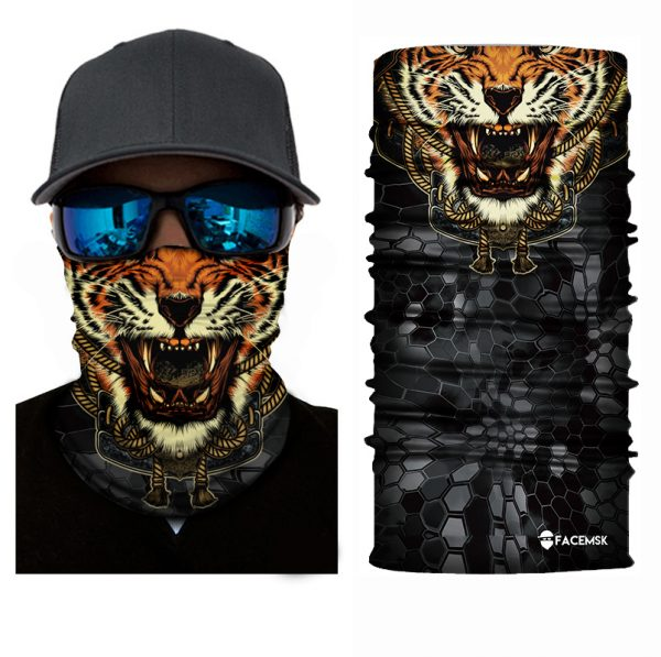 Malaysian Tiger Face Shield - Face Mask