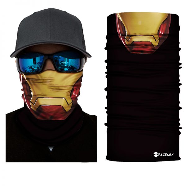 Iron Man Face Shield - Face Mask