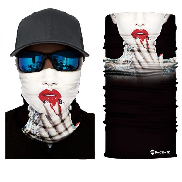 Lipstick Chick Face Shield - Face Mask