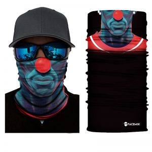 Red Nose Boy Face Shield - Face Mask
