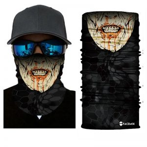 Hungry Zombie Face Shield - Face Mask