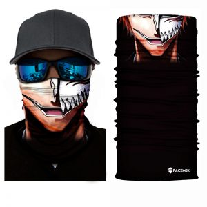 Half Covered Look Face Shield - Face Mask