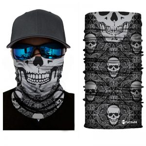Calavera Skulls Face Shield - Face Mask