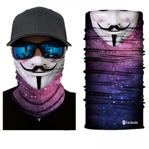 Vendetta Galaxy Face Shield - Face Mask