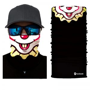 Floppy the Clown Face Shield - Face Mask