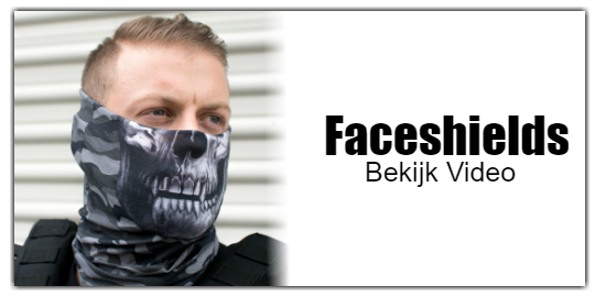 Hoe draag je een Faceshield