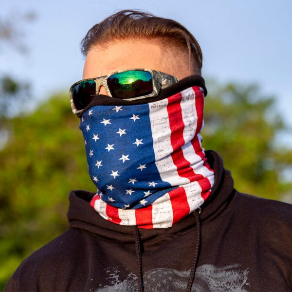 Frost Tech | American Flag Fleece Face Shield