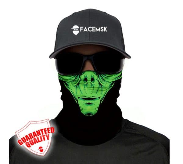 Alien Face Mask - Face Shield