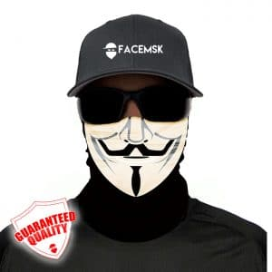 Anonymous Face Mask - Face Shield